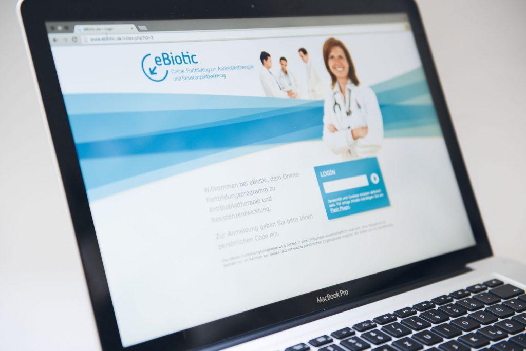 eBiotic: Reduktion der Antibiotikaverschreibung niedergelassener Ärzte