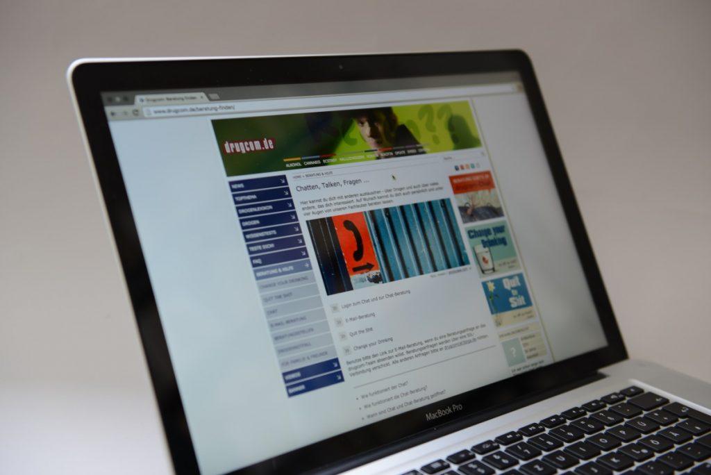 drugcom.de: Online-Beratung bei Substanzkonsum