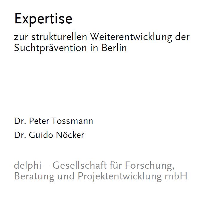 Expertise zur Suchtprävention in Berlin