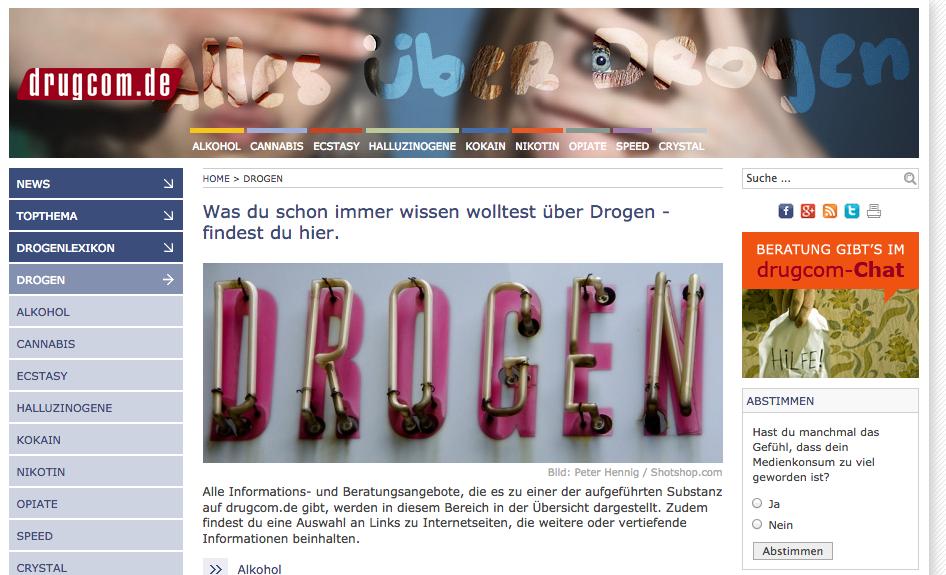 Vertragsverlängerung: delphi betreut drugcom.de