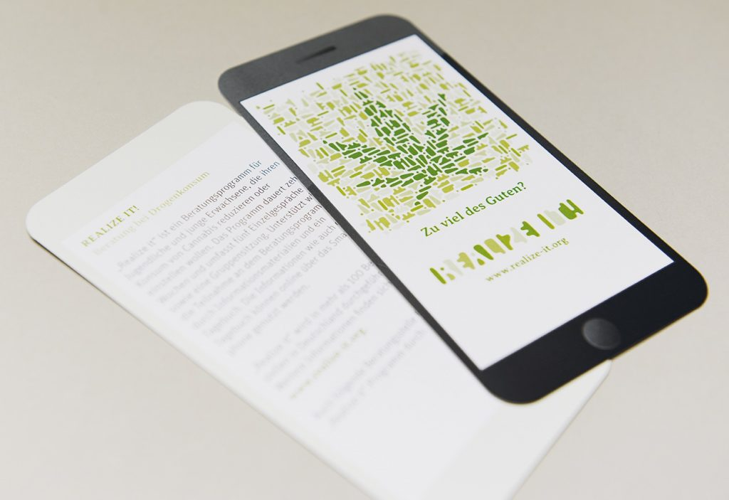 Realize It Smart: Smartphone-App für die Cannabis-Beratung