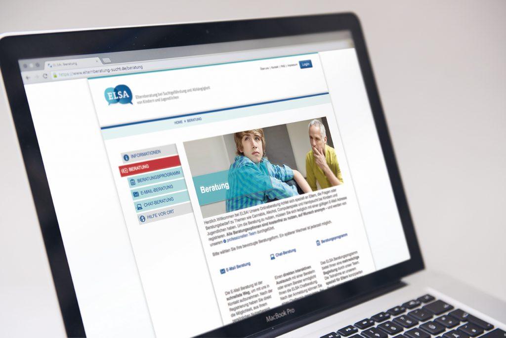 ELSA: Online Elternberatung zu Suchtfragen
