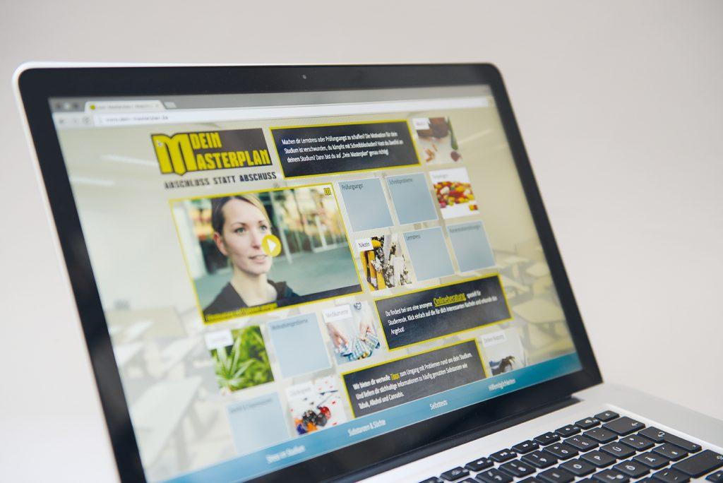 dein-masterplan.de: Suchtprävention an Hochschulen