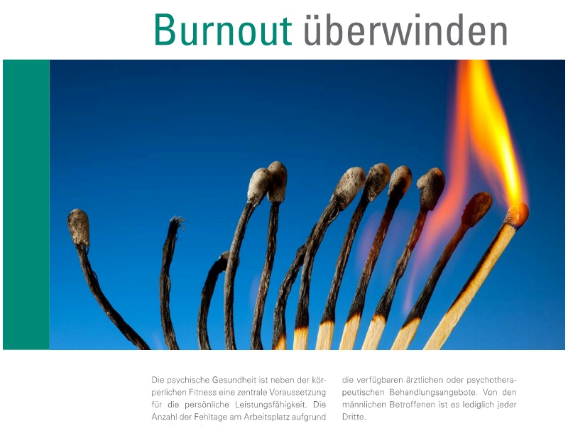 Effektive Online-Intervention bei Burnout